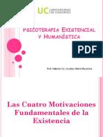 Presentación sobre las  4 Motivaciones Fundamentales de la Existencia