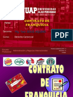 Contrato de Franquicia Clases