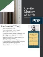 Cavite Mutiny of 1872, Spanish Account