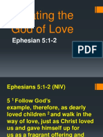 Imitating the God of Love