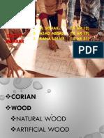 corian & Wood