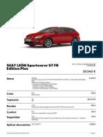 Seat León Sportourer ST FR Edition Plus