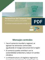Perspectivas del Comercio Internacional de América Latina y el Caribe 2019, la Comisión Económica para América Latina y el Caribe