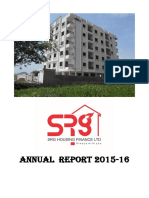 Srghfl Annual Report- 2015-16
