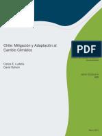Chile Mitigación y Adaptación Al Cambio Climático
