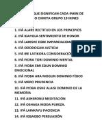 ESTO ES LO QUE SIGNIFICAN CADA INKIN DE ORULA MANO CHIKITA GRUPO 19 IKINES.docx