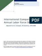 International Comparisons of Annual Labor Force Statistics