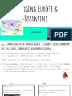 ch 9 emerging europe byzantine