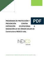 Programa Protección UV