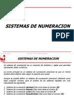 1 Sistemas de Numeracion