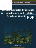 Electromagnetic Transients in Transformer and Rotat