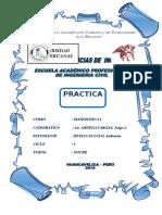 Caratula Matematica Practica