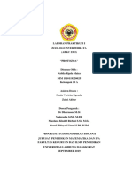 Laporan Praktikum I Zoologi Invertebrata Protozoa