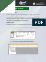 Programación macros - Trabajo con variables