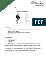 Power MOSFET Rayen Tine