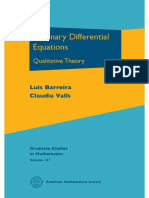 (AMS Graduate Studies in Mathematics 137) Luis Barreira, Claudia Valls - Ordinary Differential Equations_ Qualitative Theory-American Mathematical Society (2012)