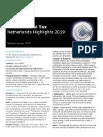 Dttl Tax Netherlandshighlights 2019