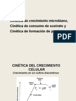 Cinética del crecimiento celular
