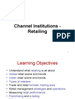 Channels - Retailing