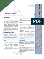 HDS - Membrana de Curado en Base Solvente