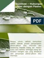 PPT Hubungan Dokter-Pasien Revisi