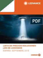 Lista de Precios Soluciones LED Septiembre 2018 (2)