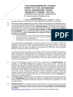 GUIDELINES FOR M E Project phase I.doc