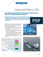 project cargo and heavy lifts