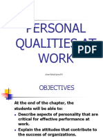 16-Personal Qualities at Work