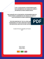 Documento Declaración de Panama 2017- Final