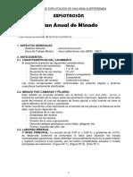 1 Plan Anual de Minado UANCV