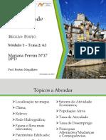 A Identidade Regional - Porto