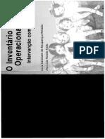 Manual Do Inventário Portage Operacionalizado Avaliação de Crianças de 0-6anos