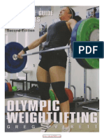 Olympic Weightlifting a Complete Guide for Athletes - Coaches