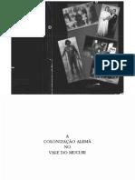Alemães Em Minas Gerais-teofilo Otoni