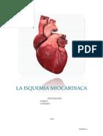 La Isquemia Miocardiaca