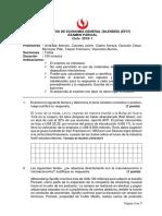 EF37 Fundamentos de Economía PARCIAL 2019-1