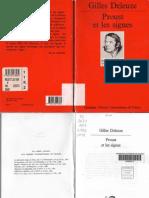 Deleuze - Proust Et Les Signes [PUF 1964]