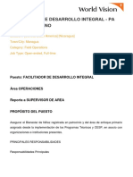 FACILITADOR DE DESARROLLO INTEGRAL