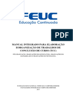 Manual Tcc Feuc