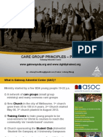 Care Group Principles Powerpoint