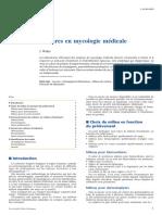 Cultures en Mycologie Médicale