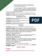 Sesión Ordinaria de Consejo de Fecha 20 de Junio de 2018 Corregido (1)