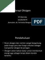 Efi Marinda - Terapi Oksigen