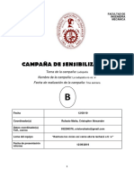 Formato Informe Campaña 2019-2