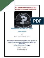 Señor Gutierrez, El Nazareno