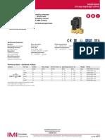 Valvula Diafragma Buschjost 82530