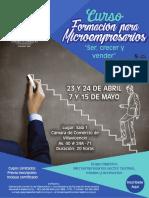 Curso Formacion Para Microempresarios Ccv