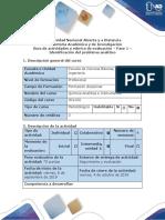 Guía de Actividades y Rúbrica de Evaluación - Fase 1 - Identificación Del Problema Analítico