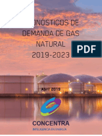 Pronosticos de demanda de gas 2023
